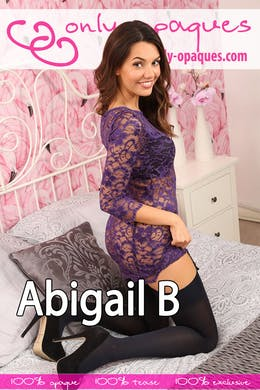 Abigail B at Only-Opaques
